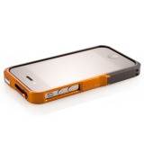 【iPhone4S/4】Vapor Pro Spectra Orange/Black w/Black