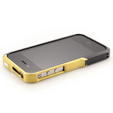 【iPhone4S/4】Vapor Pro Spectra Yellow/Black w/Black
