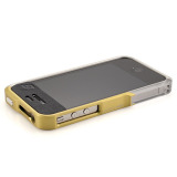 【iPhone4S/4】Vapor Pro Spectra Yellow/Silver w/Clear