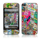 【iPhone4S/4 保護フィルム】Tokyo by e-boy × GELASKINS