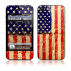 【iPhone4S/4 保護フィルム】Stars and Stripes × GELASKINS