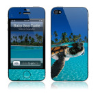 【iPhone4S/4 保護フィルム】Baby Green Sea Turtle National Geographic × GELASKINS