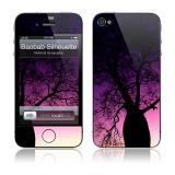 【iPhone4S/4 スキンシール】Baobab Silhouette National Geographic × GELASKINS