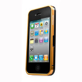 CAPDASE iPhone 4S / 4 Alumor Bumper Duo Frame, Gold / Black