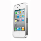 CAPDASE iPhone 4S / 4 Alumor Bumper Duo Frame, Silver / Silver