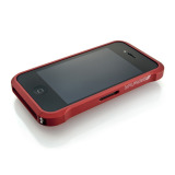 【iPhone4S/4】Vapor4 Chroma Red