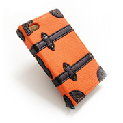 【iPhone4 ケース】Trolley Case for iPhone4/4S (Orange)