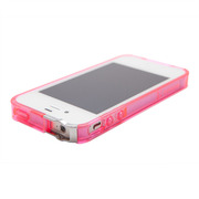 【iPhone4S/4】Exoclear Edge バンパーケース ピンク