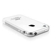 【iPhone4S/4 ケース】SGP Case Linear EX Meteor Series [Infinity White]