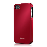 Armor Metal Hybrid Case for iPhone 4/4S Rouge?Black