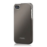 Armor Metal Hybrid Case for iPhone 4/4S Titanium?White