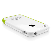 【iPhone4S/4 ケース】SGP Case Linear EX Meteor Series [Lime]