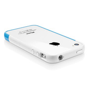 【iPhone4S/4 ケース】SGP Case Linear EX Meteor Series [Tender Blue]