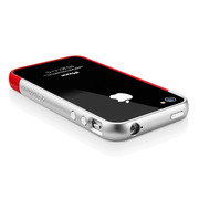 【iPhone4S/4 ケース】SGP Case Linear EX Meteor Series [Dante Red]