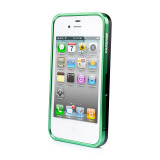 CAPDASE iPhone 4S / 4 Alumor Bumper Duo Frame, Green / Black