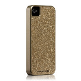 Case-Mate iPhone 4S / 4 Barely There Case Glam, Gold