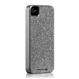 Case-Mate iPhone 4S / 4 Barely There Case Glam, Silver