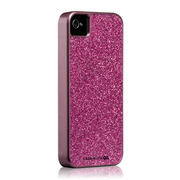 Case-Mate iPhone 4S / 4 Barely There Case Glam, Hot Pink