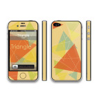 【iPhone4S/4 保護フィルム】THINCLO THTYLE 『Triangle』
