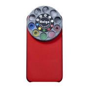 HOLGAアートエフェクターfor iPhone 4S/4(Metalic Red)
