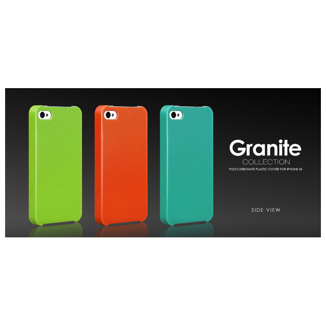 Granite Collection for iPhone 4S/4 Whiteサブ画像