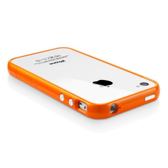 【iPhone4S/4 ケース】SGP Case Linear EX Color Series [Solaris Orange]