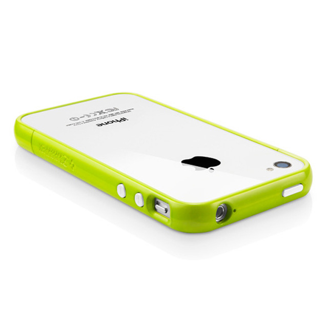 【iPhone4S/4 ケース】SGP Case Linear EX Color Series [Lime]