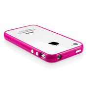 【iPhone4S/4 ケース】SGP Case Linear EX Color Series [Hot Pink]