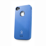 CAPDASE iPhone 4S / 4 Alumor Jacket Blue / Blue