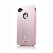 CAPDASE iPhone 4S / 4 Alumor Jacket Pink / Pink