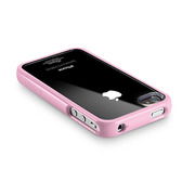 【iPhone4S/4 ケース】SGP Case Linear Crystal Series [Sherbet Pink]