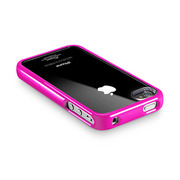 【iPhone4S/4 ケース】SGP Case Linear Crystal Series [Fantasia Hot Pink]