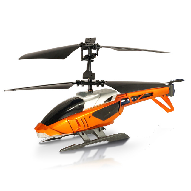【iPad iPhone iPod】Silverlit Interactive Bluetooth Remote Control Heli オレンジ