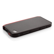 【iPhone4S/4】Vapor Comp Stealth w/Red Cap