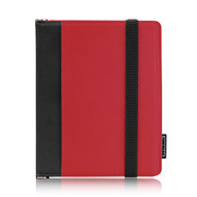 【iPad(第3世代/第4世代) iPad2 ケース】TUNEFOLIO URBAN for iPad (第3世代)/iPad 2 Red/Black