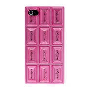 "SweetsCase for iPhone4/4S ""Chocolate Hard""(Pink)"