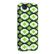 "Case-Mate iPhone 4S / 4 Hybrid Tough Case, ""I Make My Case"" Ovalicious"