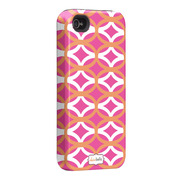 "Case-Mate iPhone 4S / 4 Hybrid Tough Case, ""I Make My Case"" Ovalicious Pink"