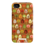 "Case-Mate iPhone 4S / 4 Hybrid Tough Case, ""I Make My Case"" Cosy Forest / Autumn Glory"