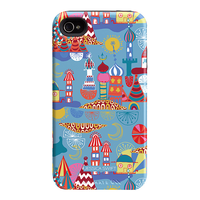 """Case-Mate iPhone 4S / 4 Hybrid Tough Case, """"I Make My Case"""" This Is Our City"""