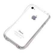 【iPhone4S/4 ケース】CLEAVE iPhone Crystal Bumper CLEAR CRYSTAL