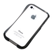【iPhone4S/4 ケース】CLEAVE iPhone Crystal Bumper DARK SIDE BLACK