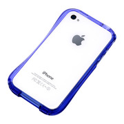 【iPhone4S/4 ケース】CLEAVE iPhone Crystal Bumper DEEP BLUE OCEAN
