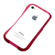 【iPhone4S/4 ケース】CLEAVE iPhone Crystal Bumper RUBY CRYSTAL