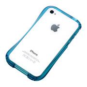 【iPhone4S/4 ケース】CLEAVE iPhone Crystal Bumper EMERALD CRYSTAL