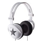 【ヘッドホン】headphones Star-White