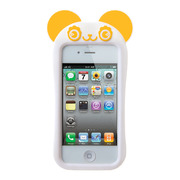 【限定】【iPhone4S/4 ケース】GANBA PANDA (Yellow)