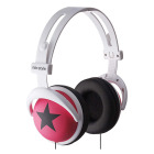 【ヘッドホン】headphones Star-Pink