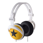 【ヘッドホン】headphones Star-Yellow