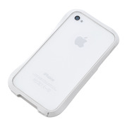 【iPhone4S/4 ケース】CLEAVE iPhone Crystal Bumper WHITE JADE